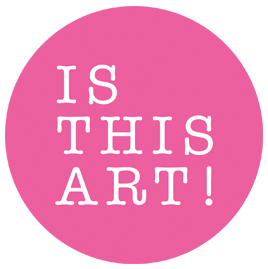 Is This Art! -logo